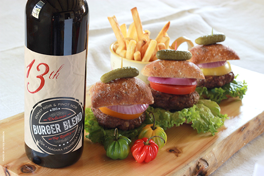 13th Street Winery - Burger Blend available winery direct or in LCBO starting late June 2015.