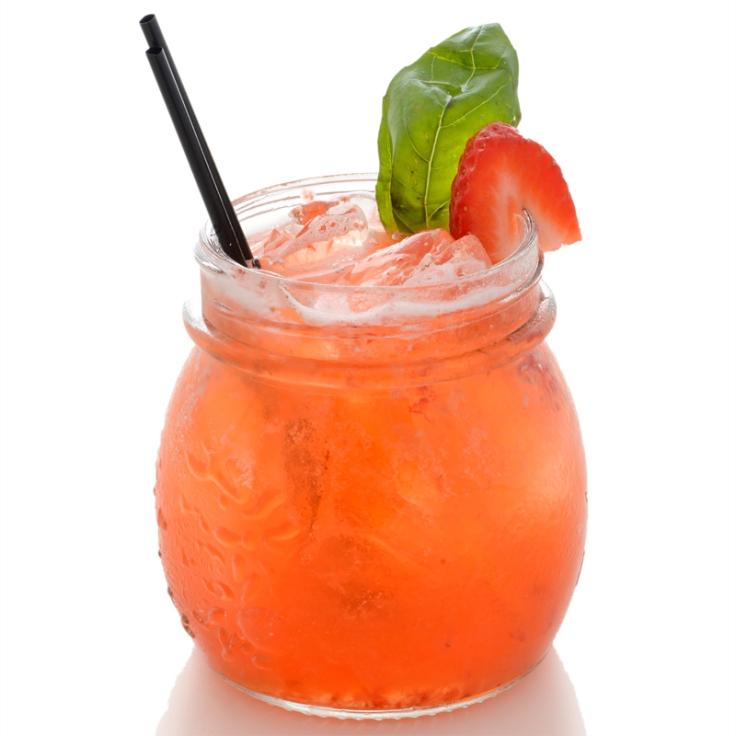 Strawberry-Basil-Lemonade