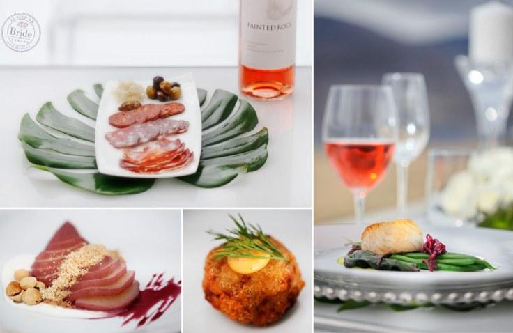 70-wedding-menu-dinner-antipasto-platter-painted-rock-wine