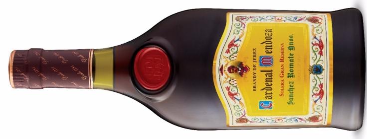 Sanchez Romate Hnos Cardenal Mendoza Solera Gran Reserva Brandy