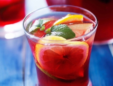 Ruby Port Low Effort Sangria
