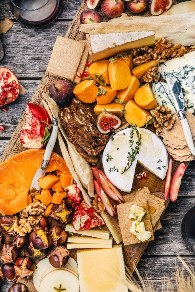 This image has an empty alt attribute; its file name is fall.inspired.cheese.platter.8745.1-1.jpg